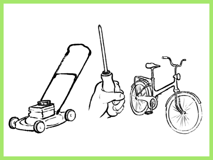 Pienkone ja polkupyöräkorjaamo